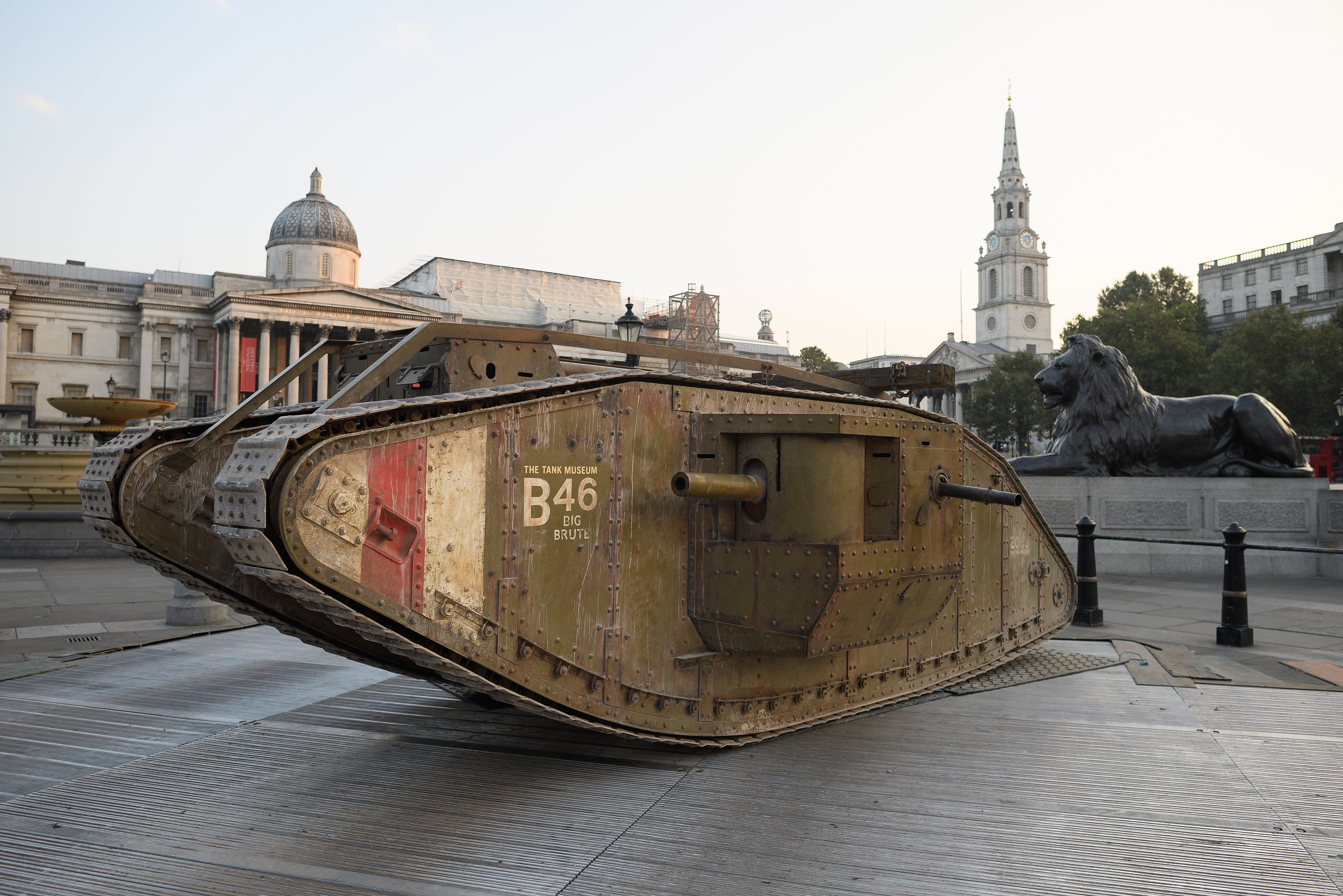 The Tank Turns 100 - History in the Headlines