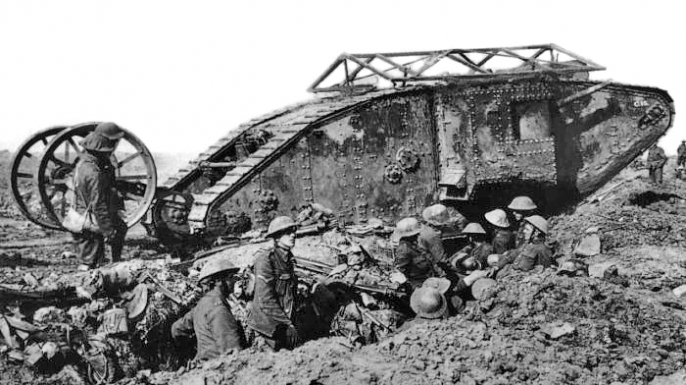 Mark I Tank at Battle of the Somme