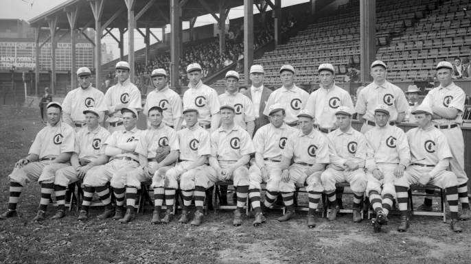 The 1908 Chicago Cubs