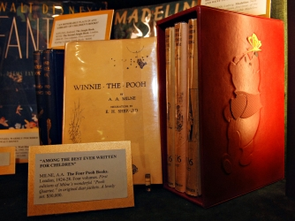 "First edition copies of ""Winnie the Pooh."""