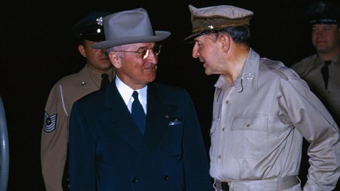 Harry Truman and Douglas Macarthur