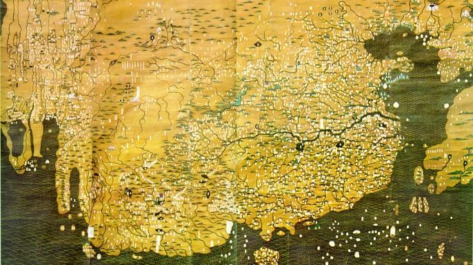 The Da Ming Hun Yi Tu. (Credit: Public Domain)