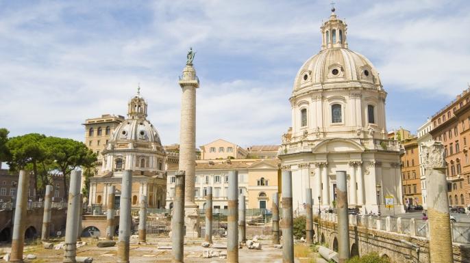 Trajan's Forum. (Credit: John Harper/Getty Images)