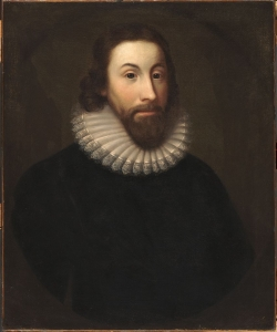 Portrait of John Winthrop. (Credit: Public Domain)