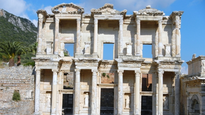 Library of Celsus. (Credit: Public Domain)