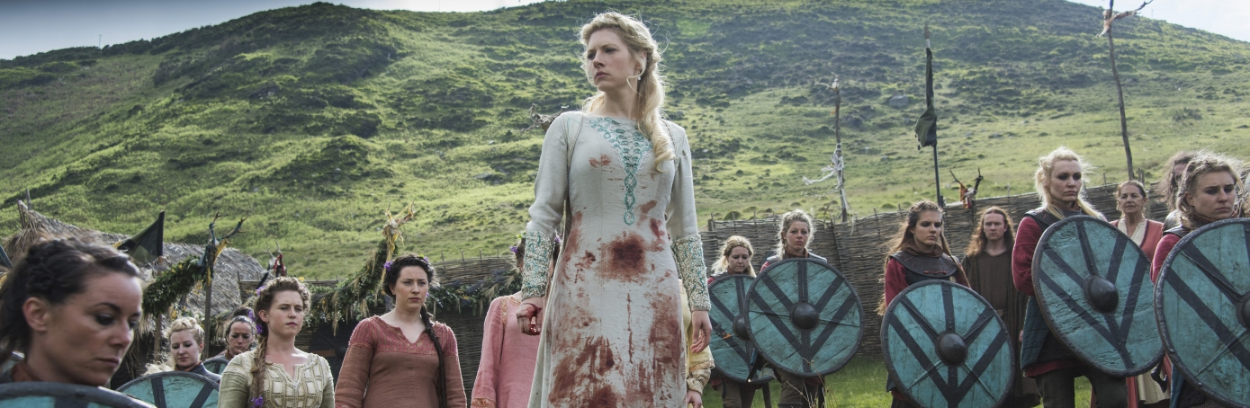 Image of Viking women life