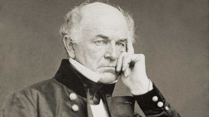 General Ethan A. Hitchcock portrait. (Credit: Public Domain)
