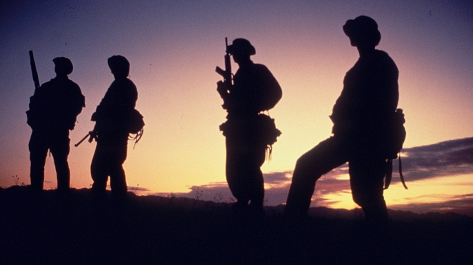 Navy SEAL members. (Credit: Greg Mathieson/Mai/Mai/The LIFE Images Collection/Getty Images)
