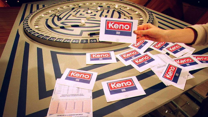 """The popular gambling game dubbed """"Keno"""" which was launched in France. (Credit: JEAN-LOUP GAUTREAU/AFP/Getty Images)"""