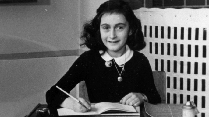 Anne Frank in 1940.