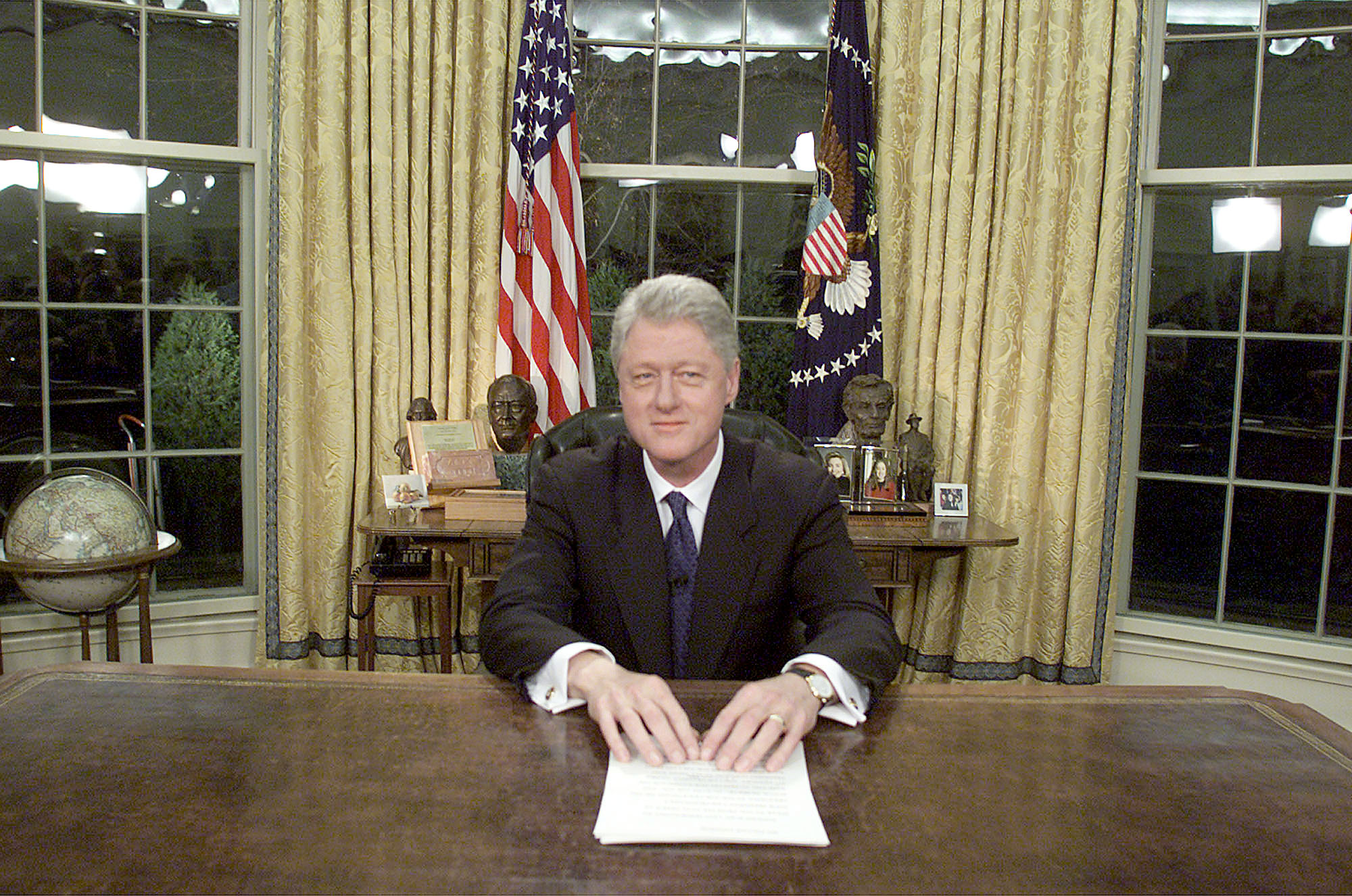 A history of the presidential farewell address history in the headlines - Bill clinton years in office ...