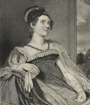Illustration of Louisa Catherine Adams. (Credit: Bettman/Getty Images)
