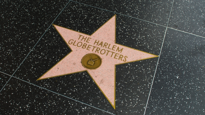 The Harlem Globetrotters star on Hollywood Walk of Fame in Hollywood, California. (Credit: Alphotographic/www.istockphoto.com)