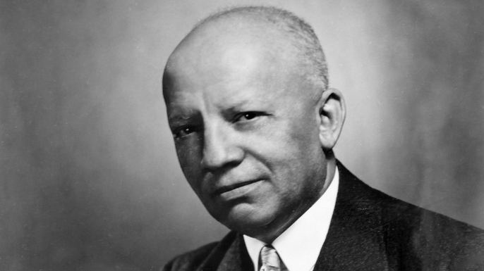 Carter G. Woodson. (Credit: Library of Congress)