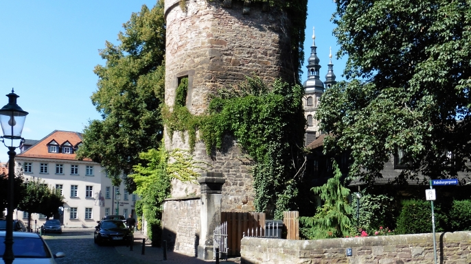 Tower used as prison during the witch trails in Fulda. (Credit: Heinrich Stürzl)