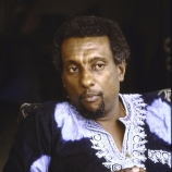 Black activist Stokely Carmichael, aka Kwame Ture, nr. his home in Conakry, Guinea. Credit: William F. Campbell/The LIFE Images Collection/Getty Images