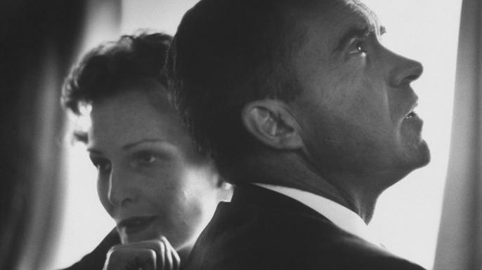 Richard and Pat Nixon, 1950s.