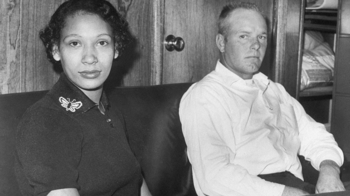 Mildred and Richard Loving. (Credit: Bettmann / Getty Images)