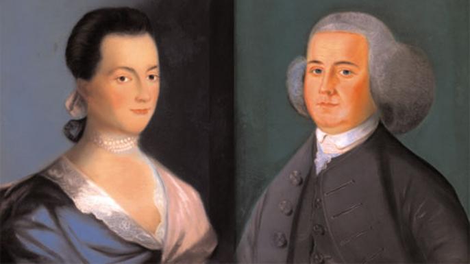 Abigail and John Adams