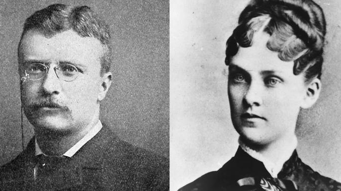 Theodore and Alice Roosevelt
