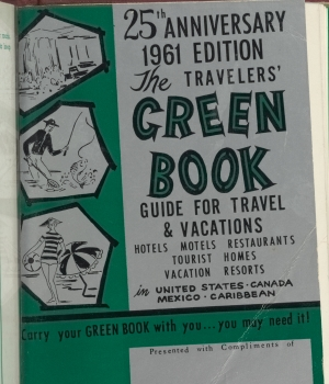 "25th anniversary edition of the ""Green Book."" ("