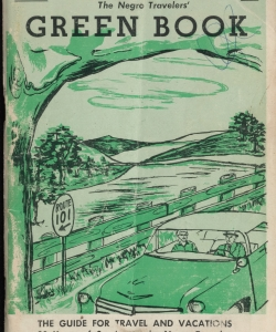 "Cover of the 1956 ""Green Book."""