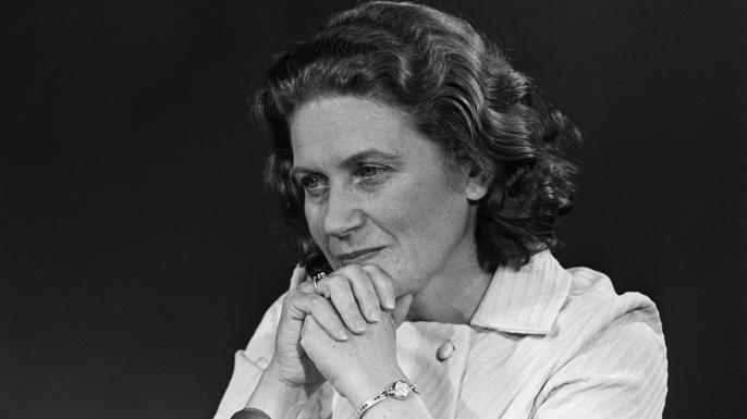Svetlana Alliluyeva in 1969. (Credit: Bettmann/Getty Images)