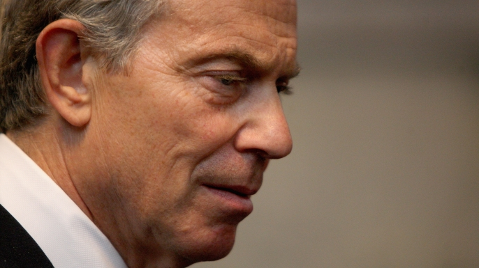 Former Prime Minister Tony Blair, 2009. (Credit: Chris Jackson/WPA POOL/Getty Images)