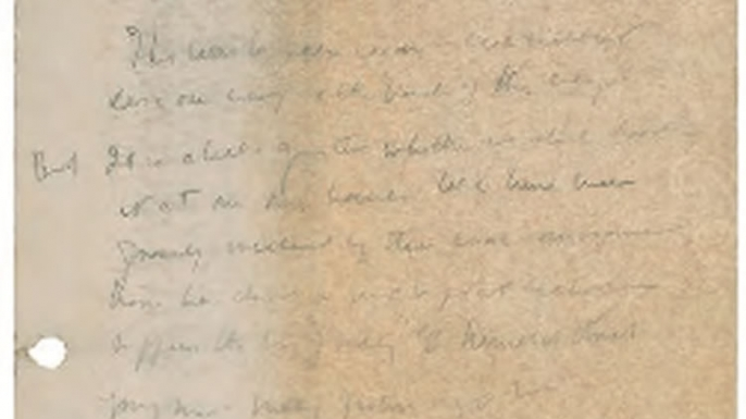 John F. Kennedy's Diary from the Summer of 1945. (Credit: RR Auction House)