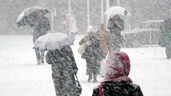 Snowstorm in Finland. (Credit: Dreef/www.istockphoto.com)