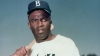 Jackie Robinson of the Brooklyn Dodgers