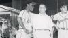 Nino Escalera during a Puerto Rican Winter League game in 1954