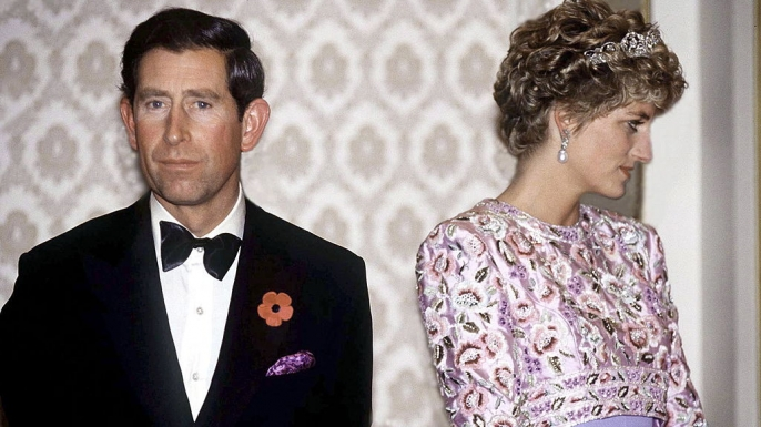 Prince Charles And Princess Diana on their last official trip together, in November 1992.