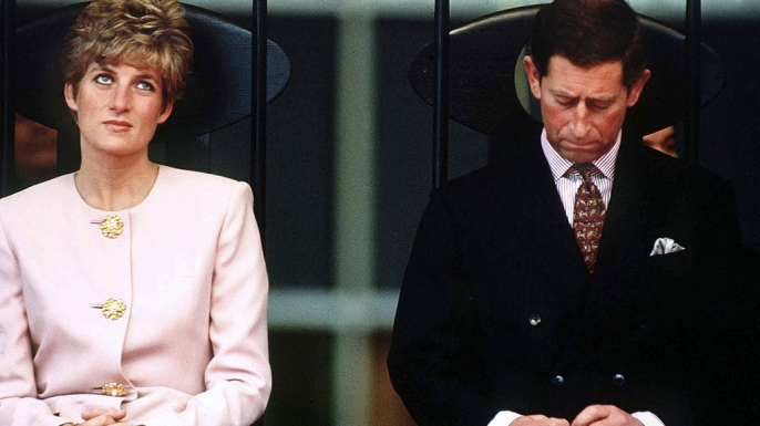 Princess Diana and Prince Charles during a 1991 trip to Canada