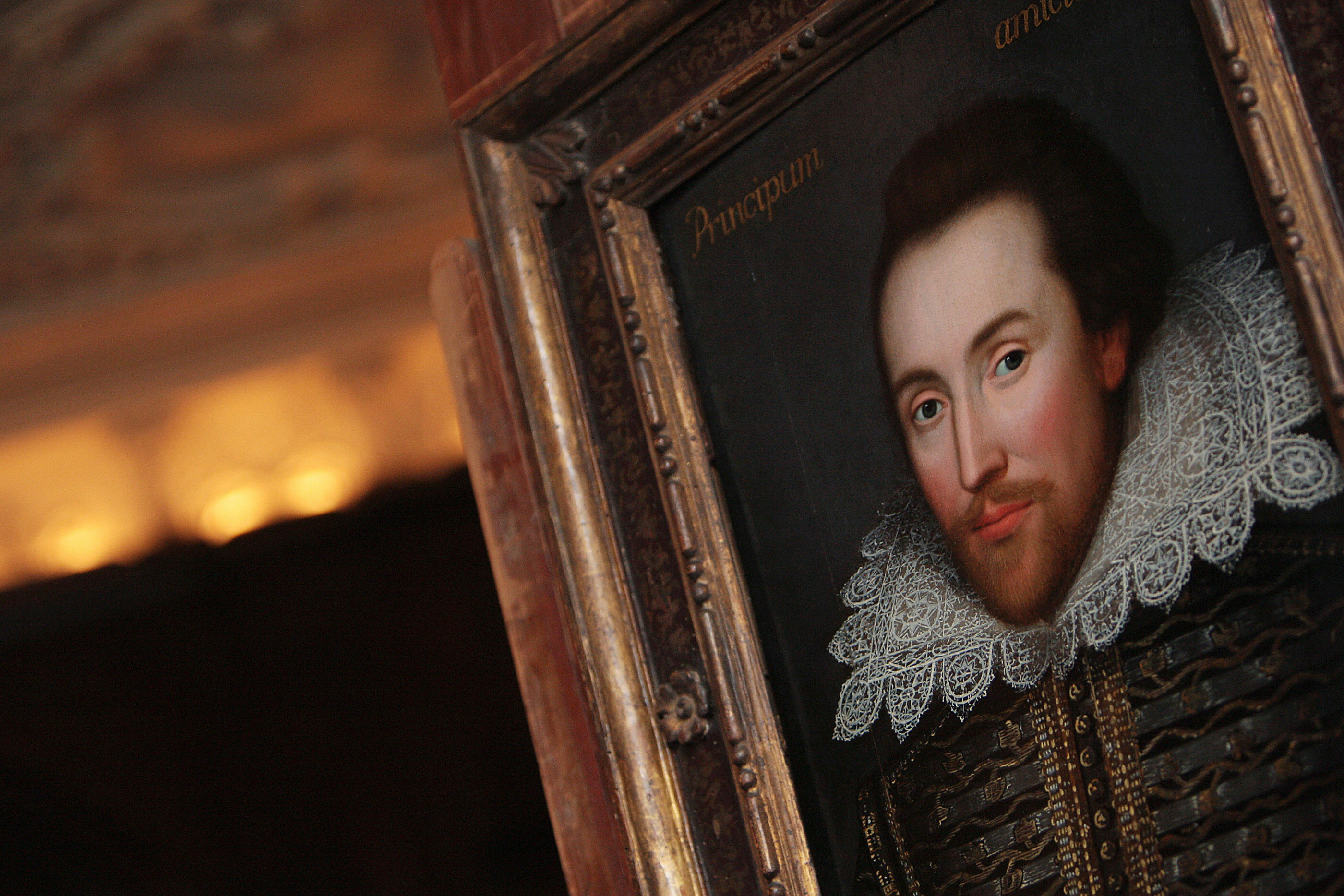 william shakespeare born apr 23 1564 com a portrait of william shakespeare is pictured in london on 9 2009