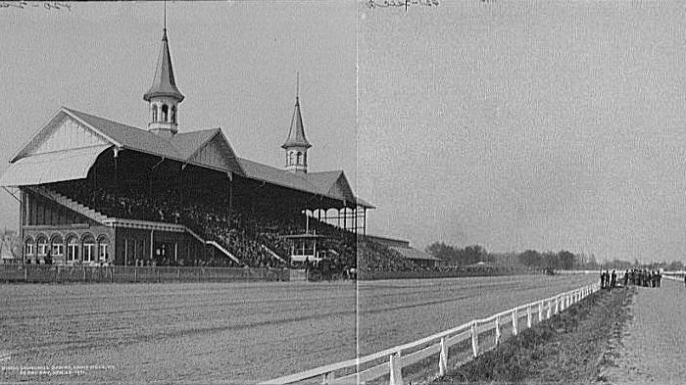 Churchill Downs, c. 1900.
