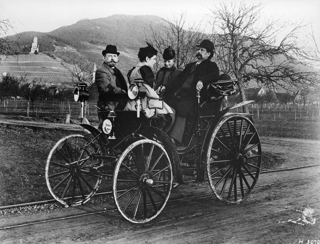 Karl Benz: Bertha Benz Hits The Road