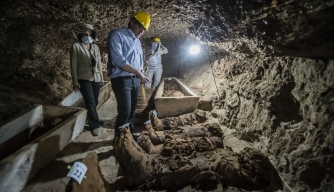 Mummy-Filled Necropolis and Cartouche Honoring a Pharaoh Are Latest Egyptian Finds