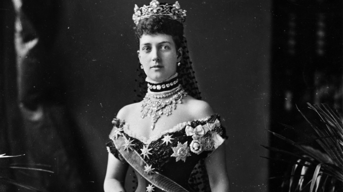 Alexandra, Princess of Wales, the wife of the future King Edward VII.  (Credit: Hulton Archive/Getty Images)