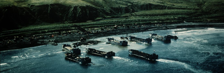 U.S. landing operations at Kiska.