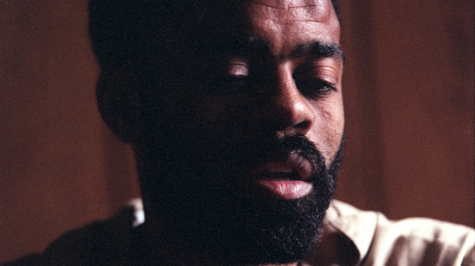 """Freeway"" Ricky Ross at the Metropolitan Correctional Center in San Diego in October 1996. (Credit: Rob Gauthier/Los Angeles Times via Getty Images)"