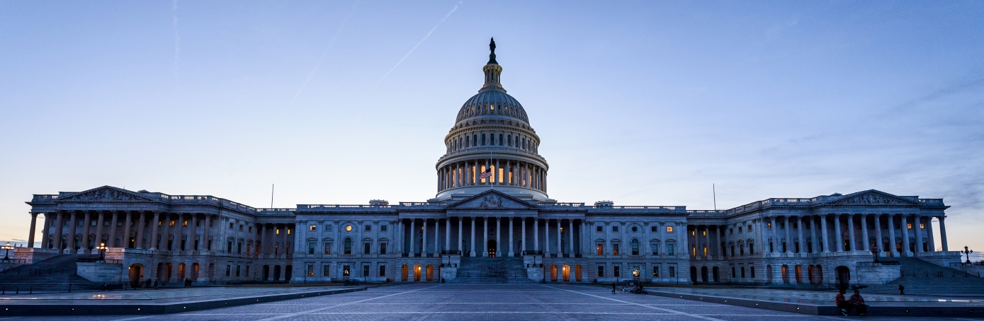 The United States Capitol Building. (Credit: Geoff Livingston/Getty Images)