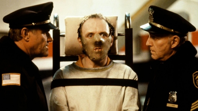Hannibal Lector from the film 'Silence of the Lambs'. (Credit: Collection Christophel / Alamy Stock Photo)