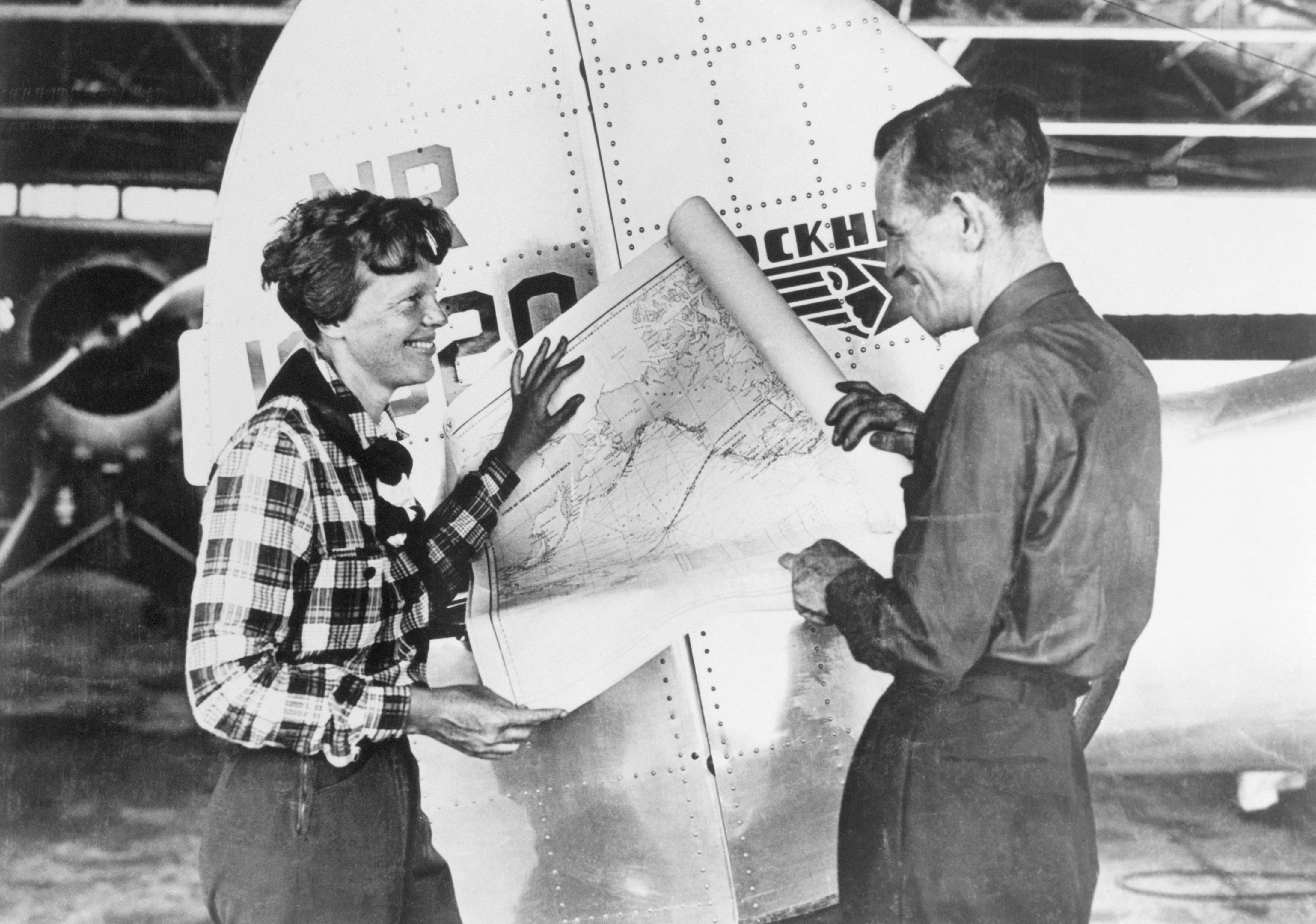 the last flight of amelia earhart Traditional there's a ship out on the ocean, just a speck against the sky, amelia  earhart sadly flew that day with her partner captain newnan, on the second of.