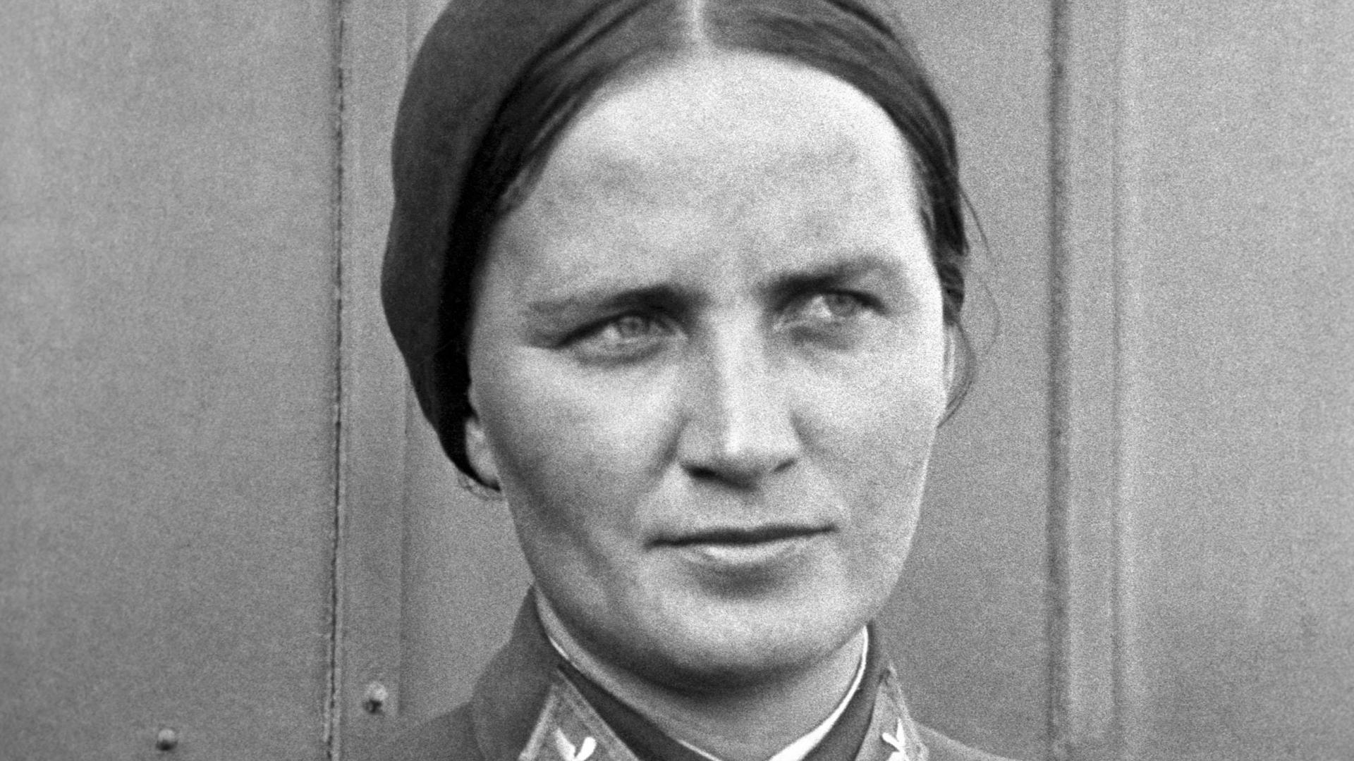 Marina Raskova, Moscow, 1938. (Credit: ITAR-TASS Photo Agency/Alamy Stock Photo)