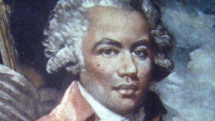 Joseph Bologne, the Chevalier de Saint-Georges.