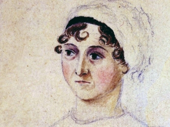 Portrait of Jane Austen dated 1810. (Credit: World History Archive/Alamy Stock Photo)
