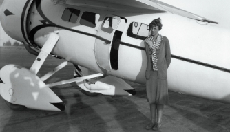Amelia Earhart's Other Runway: The Aviator's Forgotten Fashion Line