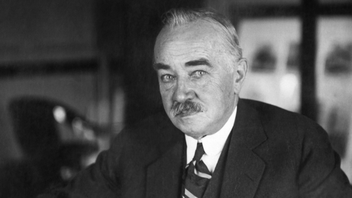A portrait of America's chocolate king, Milton S. Hershey. (Credit: Underwood Archives/Getty Images)