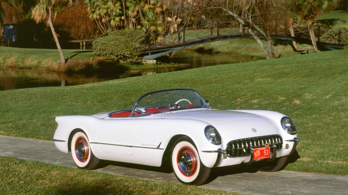 1953 Chevrolet Corvette. (Credit: National Motor Museum/Heritage Images/Getty Images)